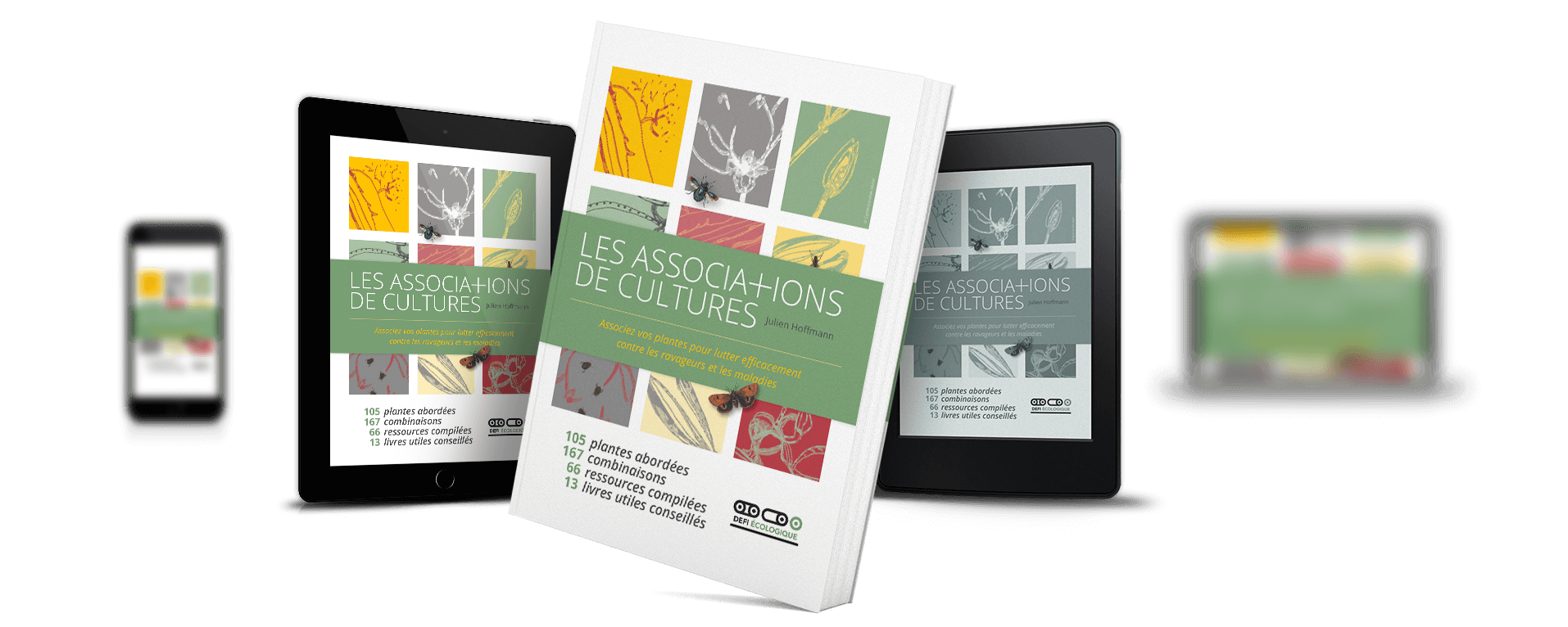 Couverture Les associations de cultures