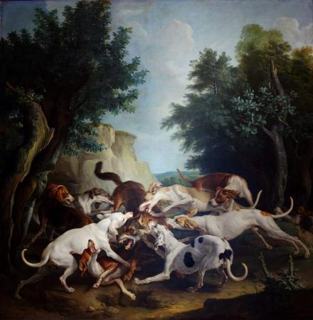 Chasse au loup - Alexandre-François Desportes (1661–1743)