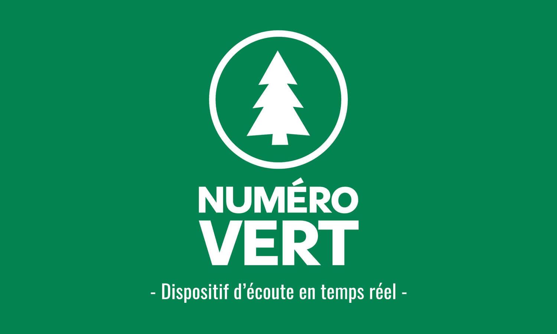 Numéro vert, une installation qui entend parler de Nature